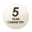 5 year cabinetry