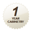 1 year cabinetry